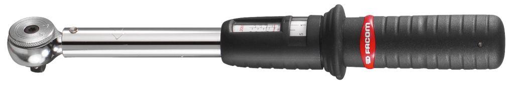 Facom R-J-S.208 Átaksmælar með áföstu skralli