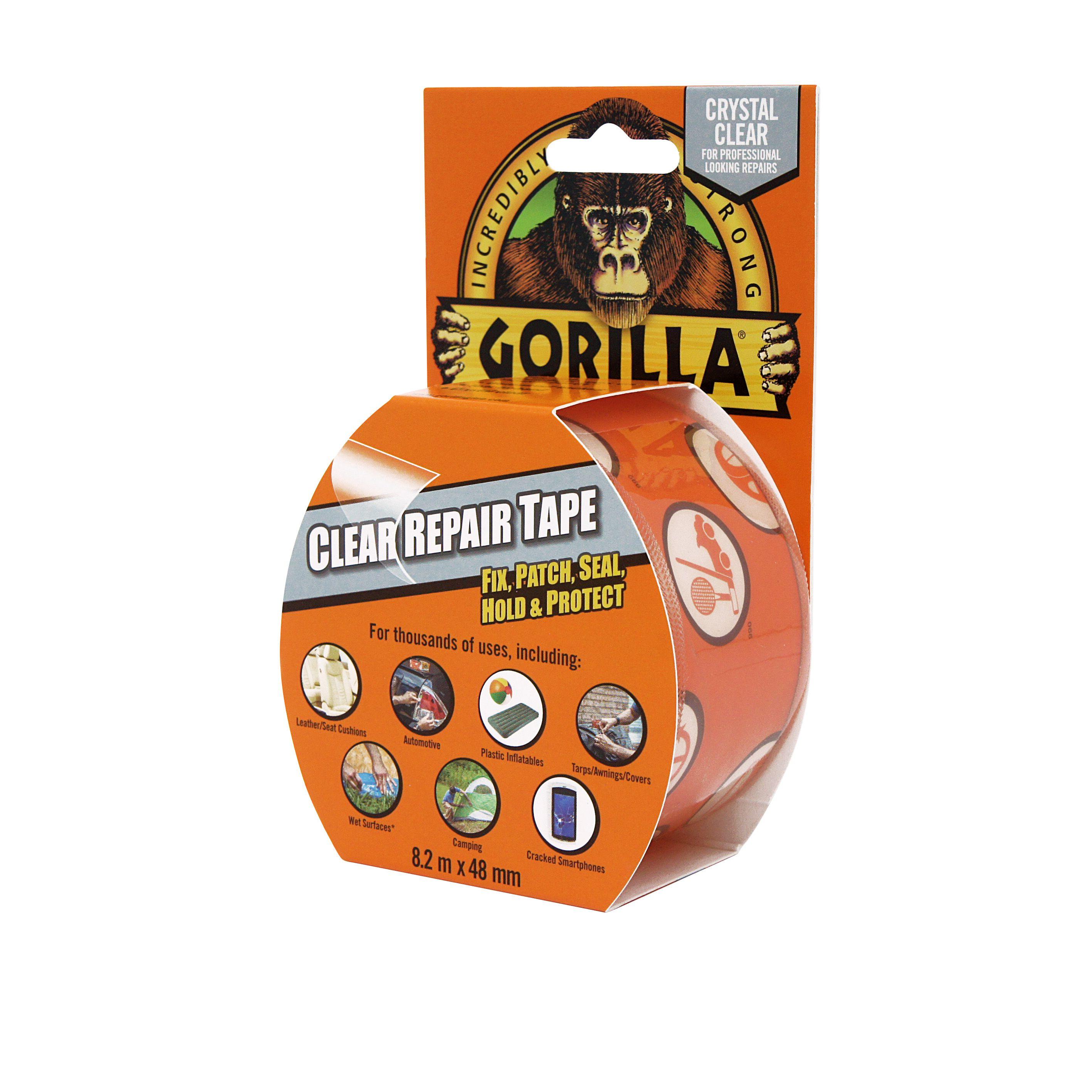 Gorilla Clear Repair glært límband