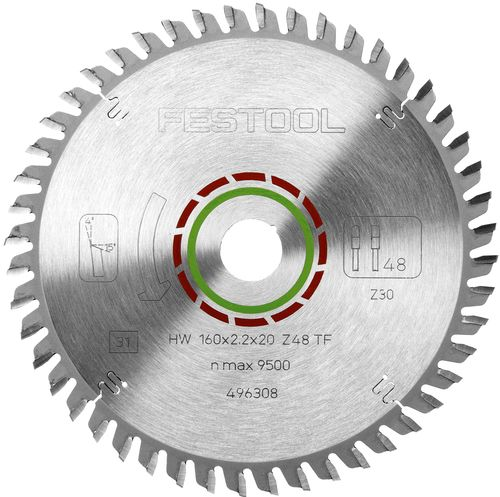 Festool TF48 Hjólsagarblað fyrir plast 496308