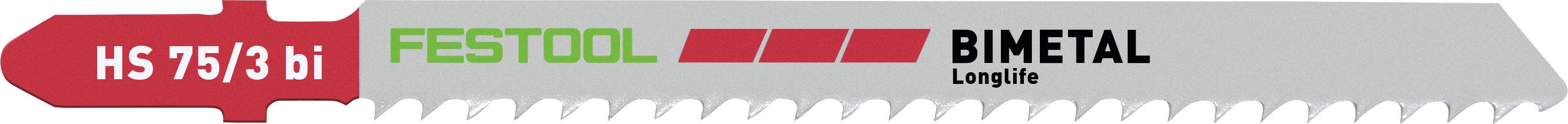 Festool Stingsagarblað Bimetal longlife HS75/3 Bl/5 204336