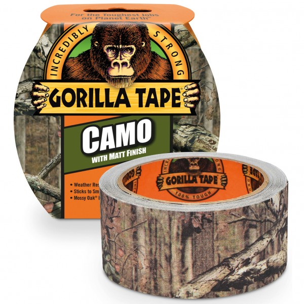 Gorilla Tape 2' x 8,2 m Camo límband
