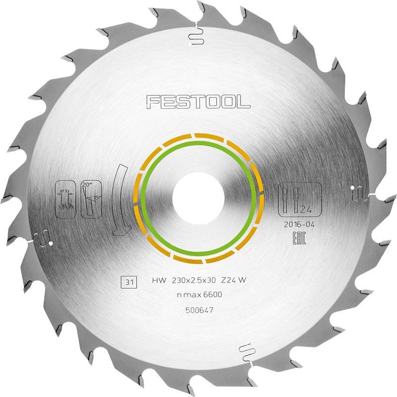 Festool W24 Hjólsagarblað fyrir tré 500647 hk85