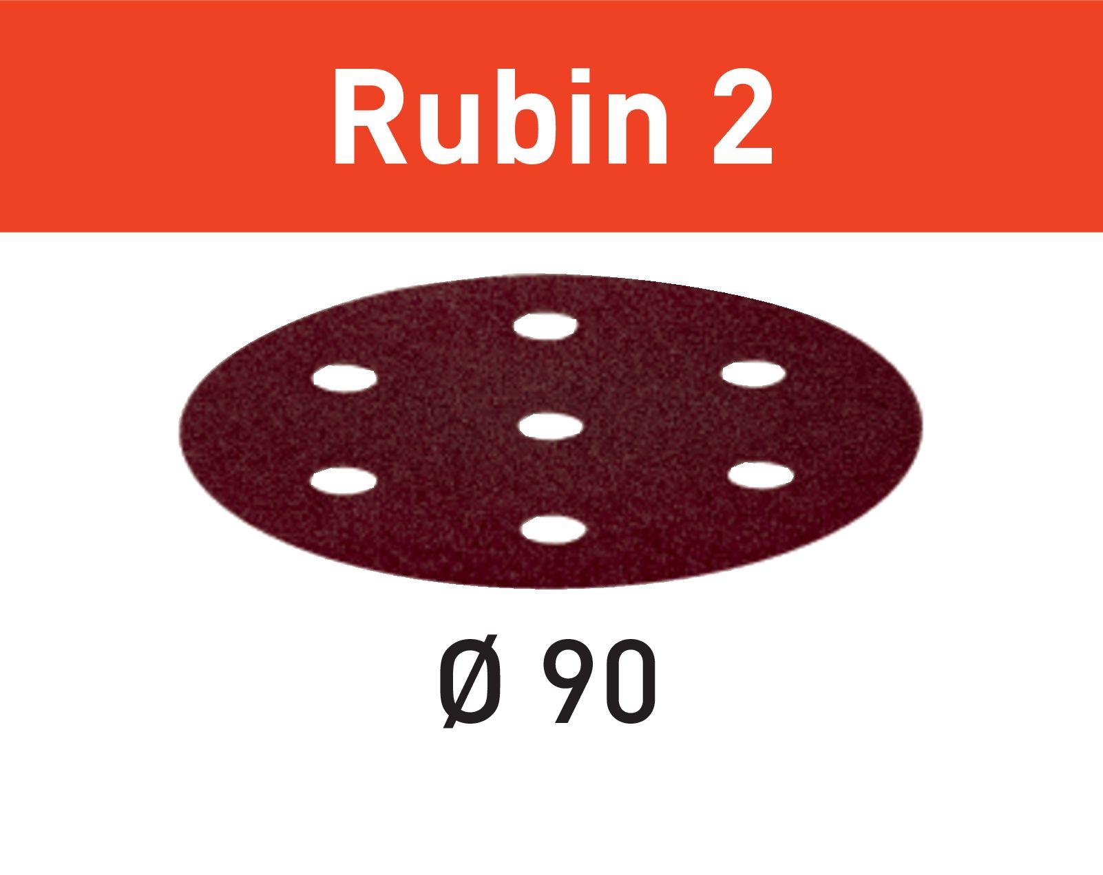 Rubin sandpappír D90Ø