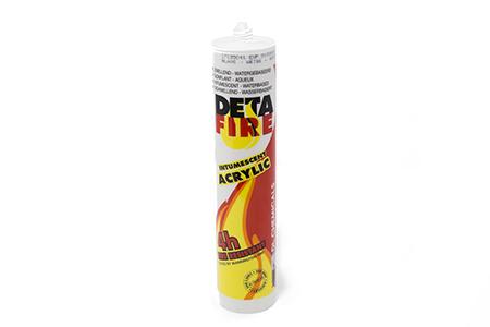 Detafire Acryl White 310 ml Eldvarnarkítti
