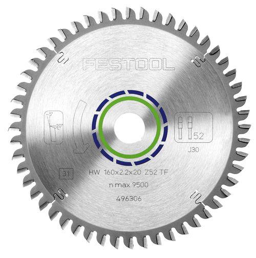 Festool 225x2,6x30 TF68 Sagarblað fyrir ál 488291