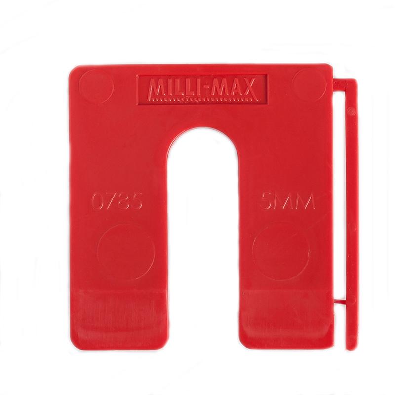 MILLIMAX Millilegg 5 mm Rautt 80 stk.
