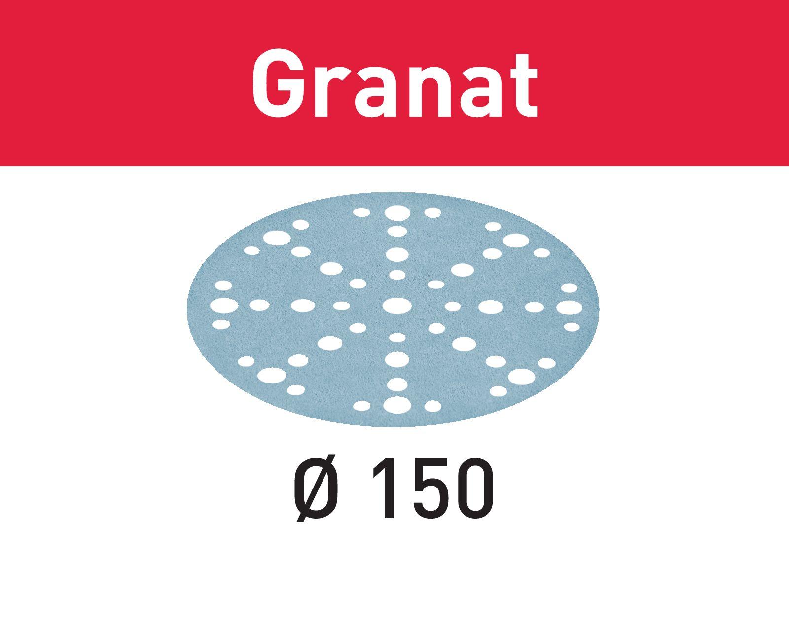 Granat Sandpappír 150Ø