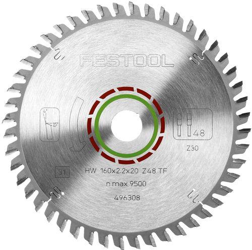 Festool  216x2,3x30 WZ60 Sagarblað fyrir plast 500123