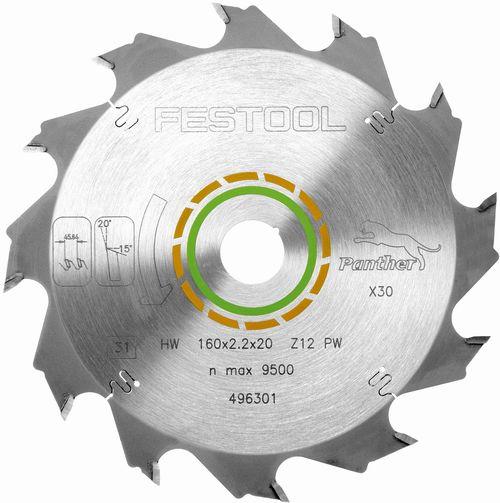 Festool W18 Hjólsagarblað fyrir tré 493197 TS75